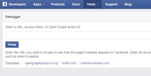 FacebookのOGP設定後はDebuggerでチェックしてリフレッシュ